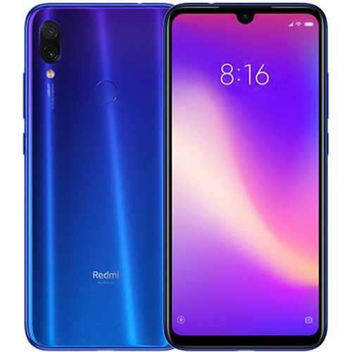 Xiaomi Redmi Note 7 Blue Cell phones Sale, Price & Reviews | Gearbest