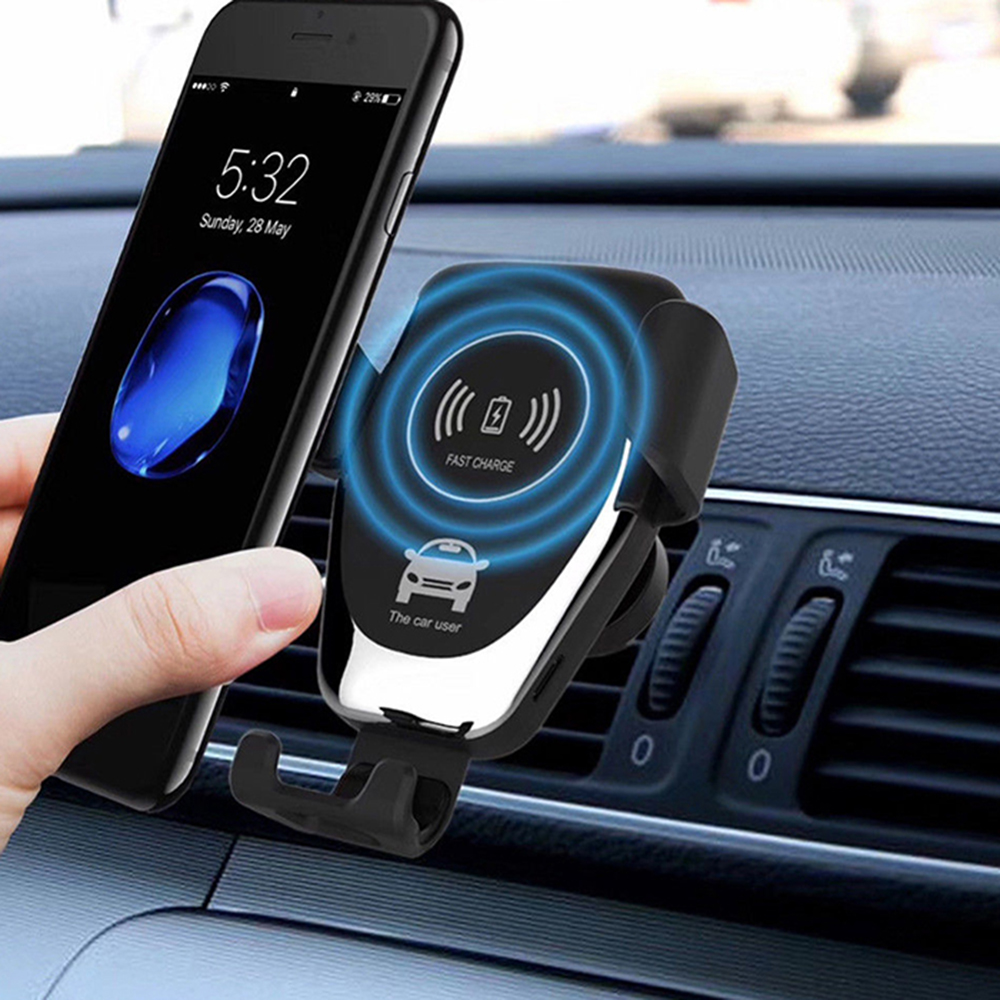 Gocomma 10W QI Wireless Fast Charger Car Mount Black 1pc Car Charger Sale, Price & Reviews | Gearbest
