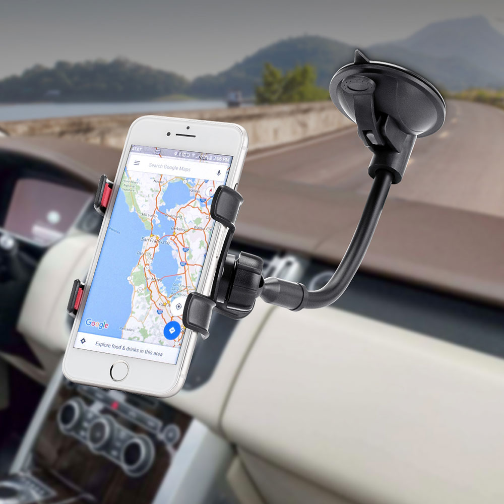Long Arm Car Windscreen Cellphone Holder Sale, Price & Reviews | Gearbest