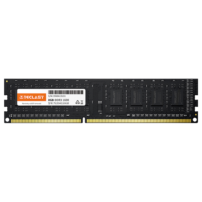 Teclast S10 Memory Module DDR3 1600MHz 8GB Sale, Price & Reviews | Gearbest
