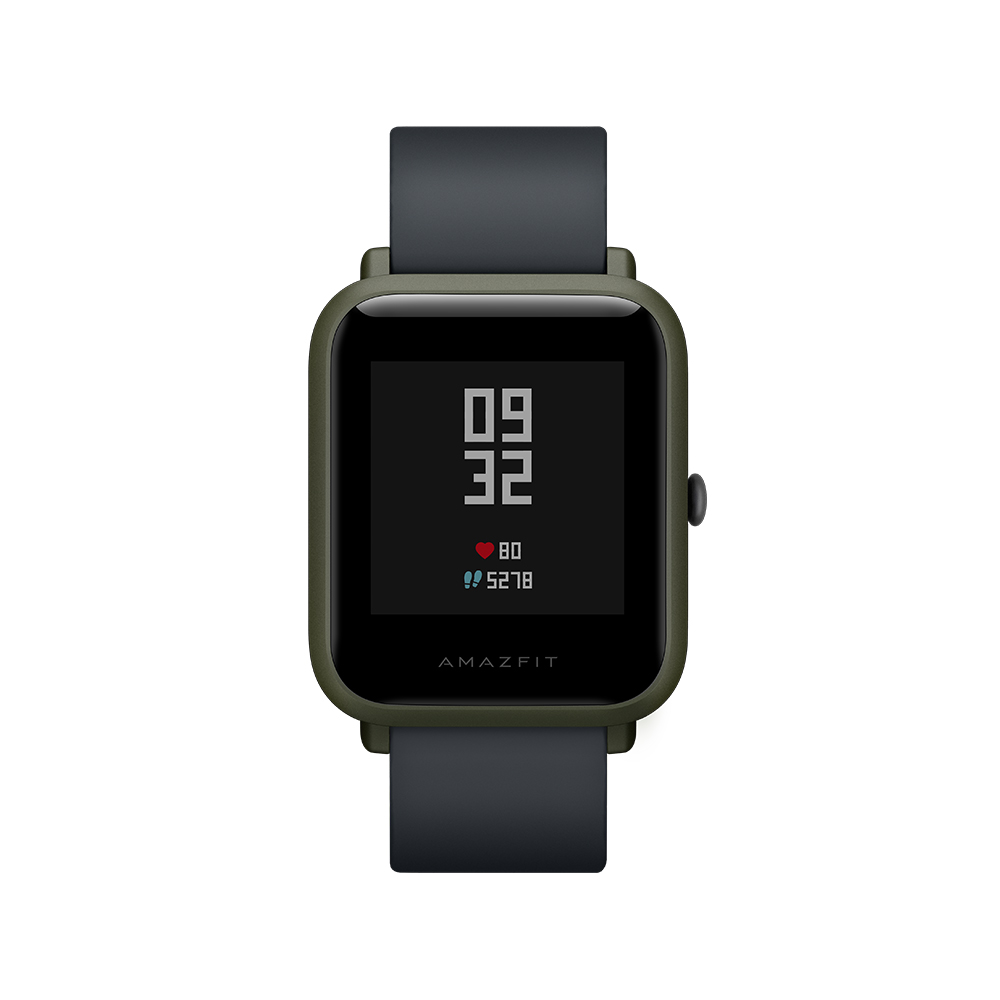AMAZFIT A1608 Bip Deep Green Smart Watches Sale, Price & Reviews | Gearbest