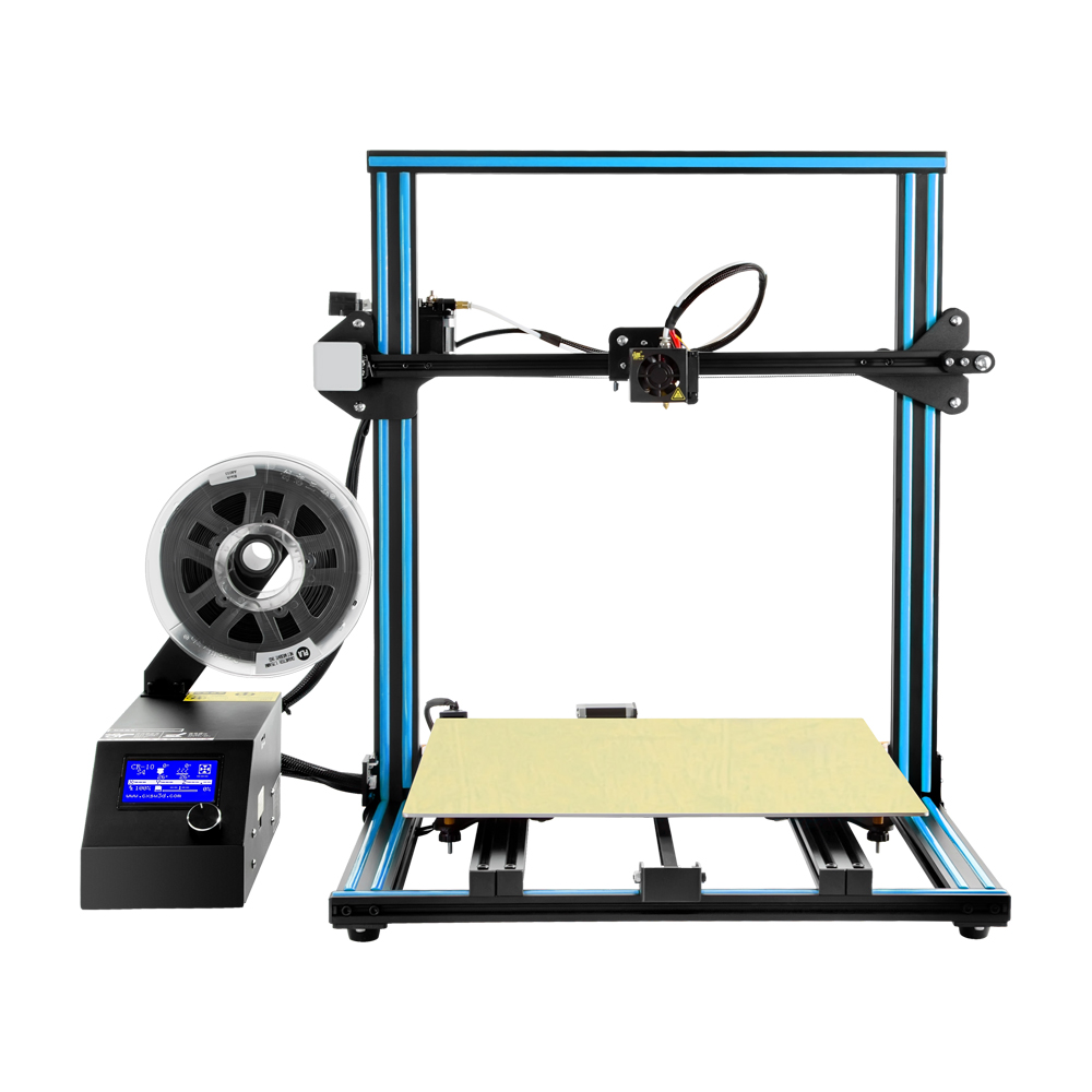 Creality CR - 10 Blue US Plug 3D Printers, 3D Printer Kits Sale, Price & Reviews | Gearbest