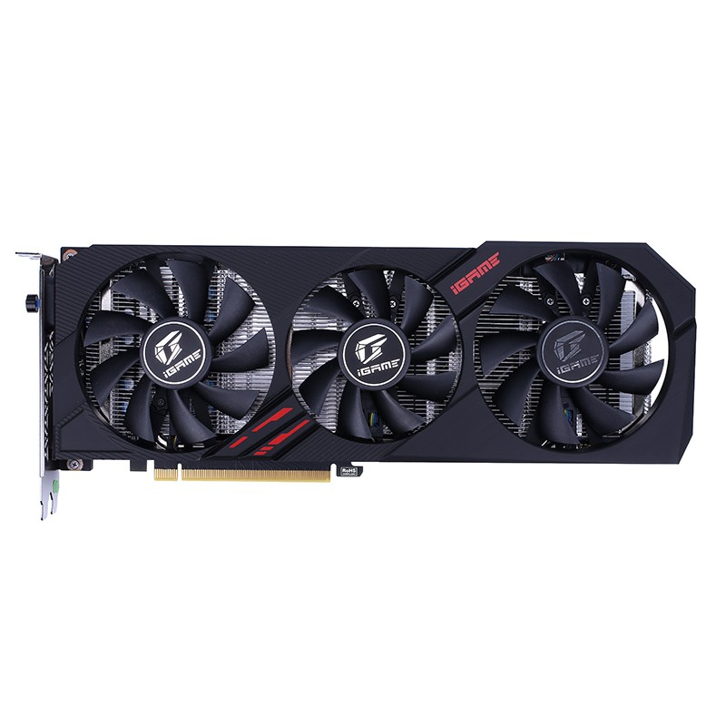 Colorful iGame GeForce GTX 1660 Ti Ultra 6G Gaming Game Graphics Card - BLACK