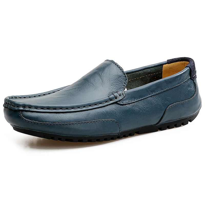 2019 New Men Casual Driving Shoes Slip On Loafers Octopus Shoes Flats Boat Shoes