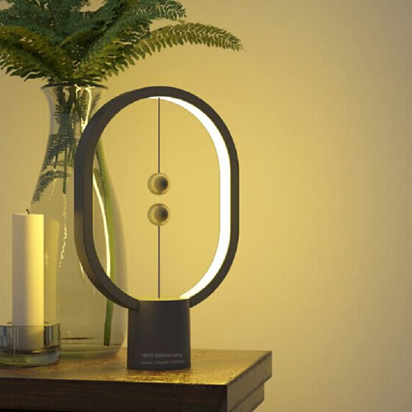 Utorch DH09 Intelligent Balance Magnetic Switch LED Table Lamp - Dark Gray