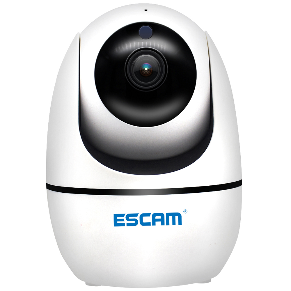 ESCAM PVR008 H.265 Auto Tracking PTZ Pan Tilt 2MP HD 1080P Wireless Two way Talk Night Vision Network IP Camera