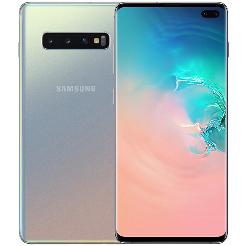 Samsung Galaxy S10 Silver Cell Phones Sale Price Reviews Gearbest