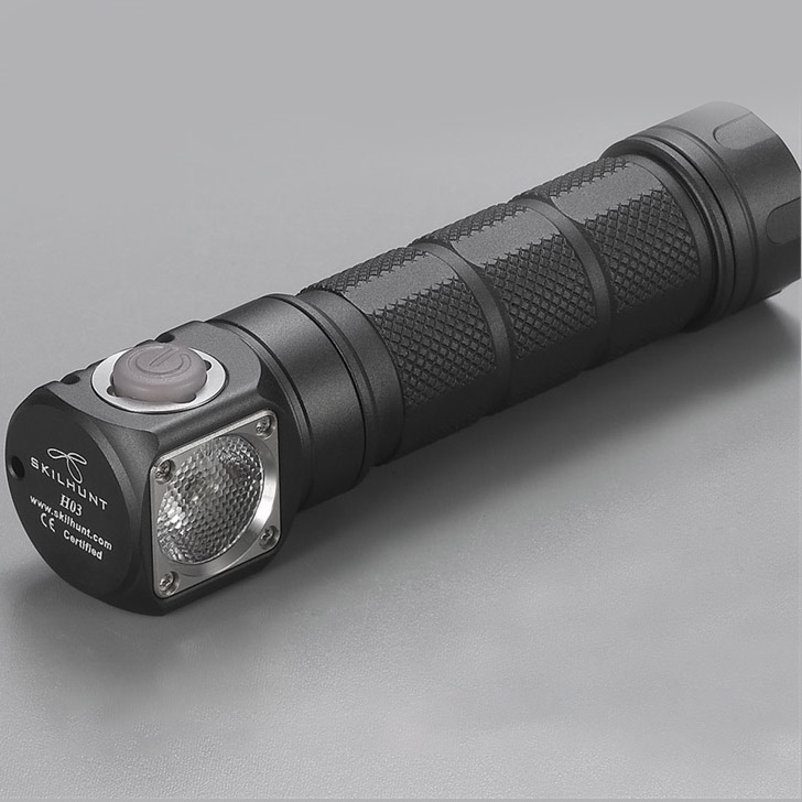 Skilhunt H03 SE Black Two customized UI Tactical Flashlights Sale, Price & Reviews | Gearbest