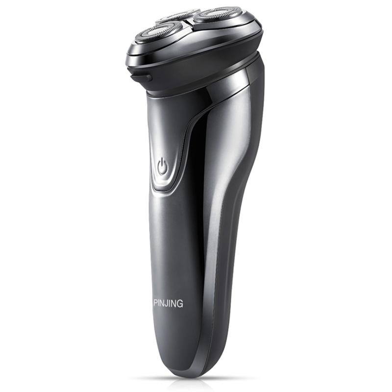 PINJING ES3 Silver Electric Shavers Sale, Price & Reviews | Gearbest