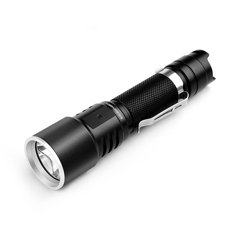 Utorch KC15 1000lm Super Bright USB Rechargeable LED Flashlight 5 Modes Adjustable Brightness IP67 Waterproof Tactical Flashlight Portable Torch for Outdoor Use