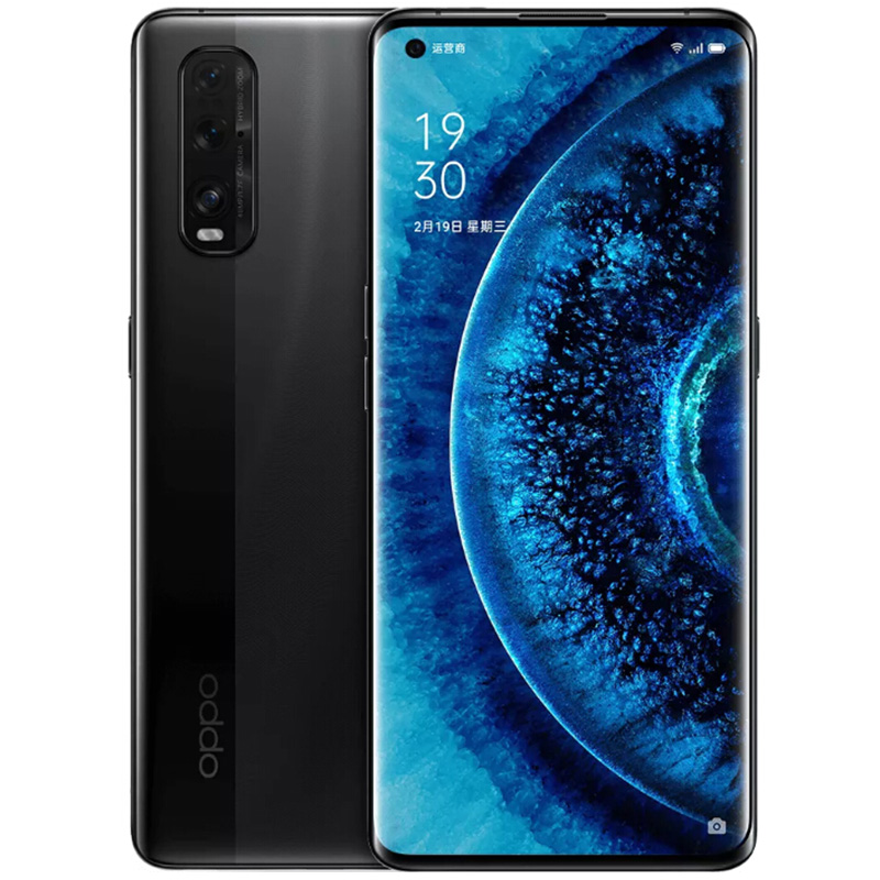 OPPO Find X2 5G Smartphone 8GB RAM 128GB ROM 6.7 inch Mobile Phone Android 10.0 4200mAh Battery - BLACK
