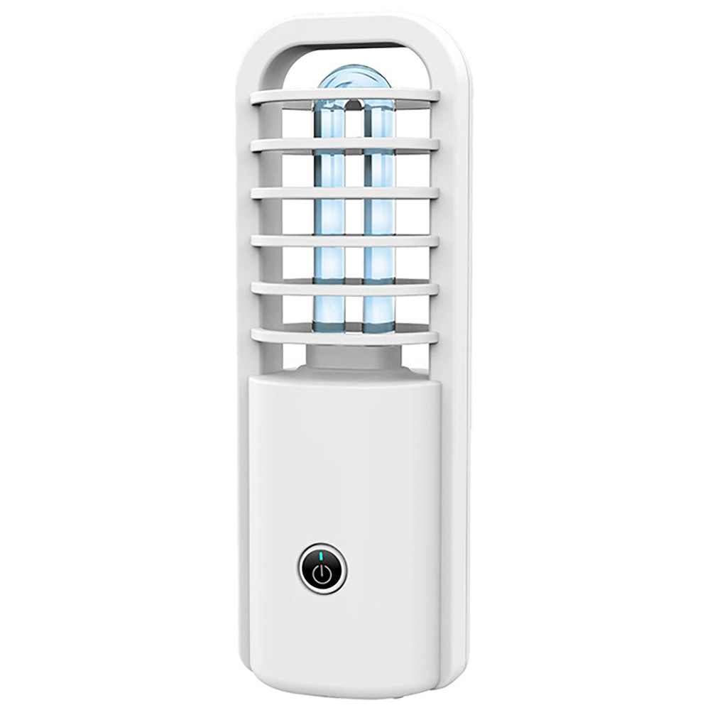 20W YiLaie UVC Light Sanitizer,LED Germicidal Lamp with Remote Control,Portable Battery Powered Disinfection Sterilization Light for Car Bedroom Washroom Kitchen Shoe Cabinet Toilet
