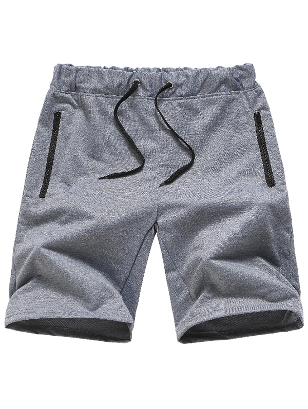 Gray Cat Mens Beach Board Shorts Quick Dry Summer Casual Swimming Soft Fabric with Pocket
