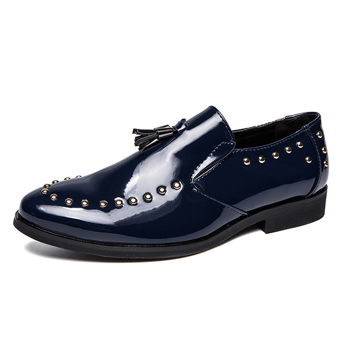 British Style Mens Pointed Toe Carved Wing Tip Lace Up Real Leather Formal Shoes