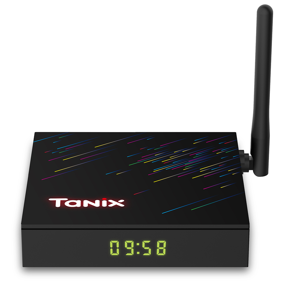 Tanix H3 Smart 4K TV Box with HiSilicon Hi3798MV130 Android 9.0 2.4GHz   5GHz Dual WiFi 100Mbps Bluetooth 4.0 Netflix Google Play H.264 H.265 HDR10 Support 4K 60fps