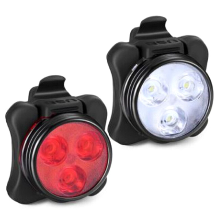 Glare Bicycle Light Stand Accessories Plastic Ride 360 Black Headlight Clip SL