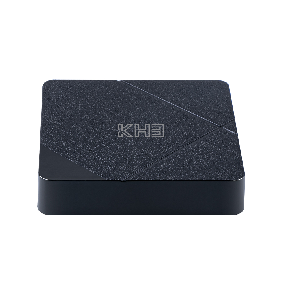MECOOL KH3 Android 10.0 Smart 4K 60fps TV Box - Black 2GB RAM + 16GB ROM US Plug