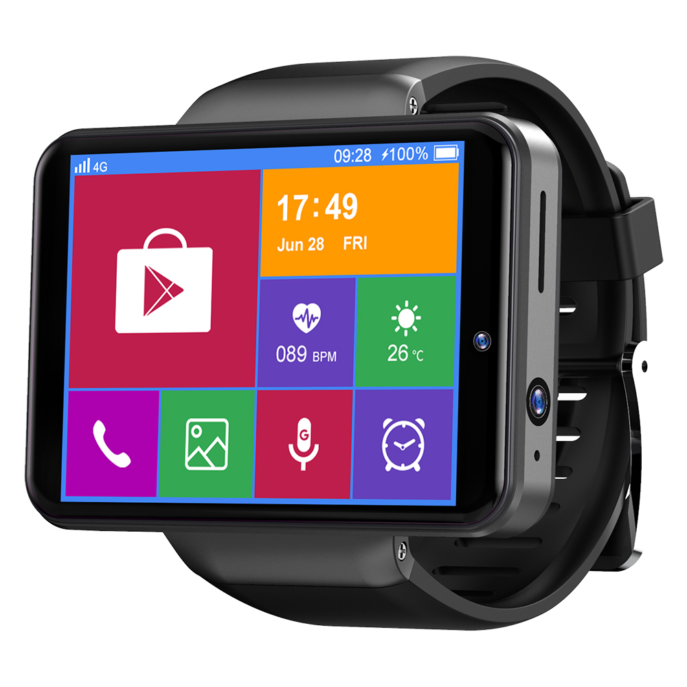 Ticwris Max S 4G Smart Watch Phone Android 7.1 MTK6739 Quad Core 3GB  32GB Smartwatch Heart Rate Pedometer IP67 Waterproof