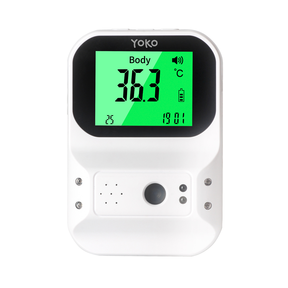SM T60 Infrared Body Temperature Detector Non contact with Voice Function