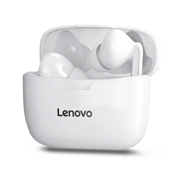 Lenovo XT90 Bluetooth 5.0 Earbuds Headphone TWS Wireless Earphones - White