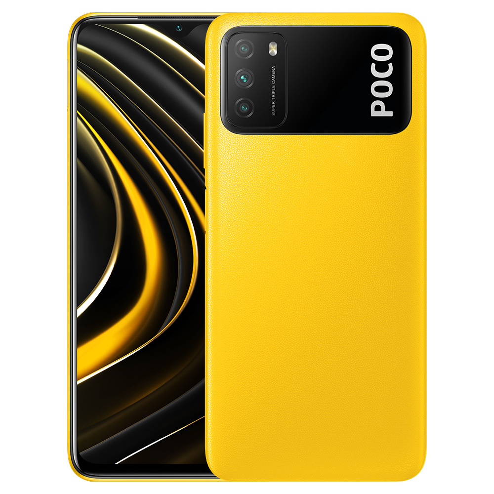 Xiaomi Poco M3 - Yellow 4 + 64GB