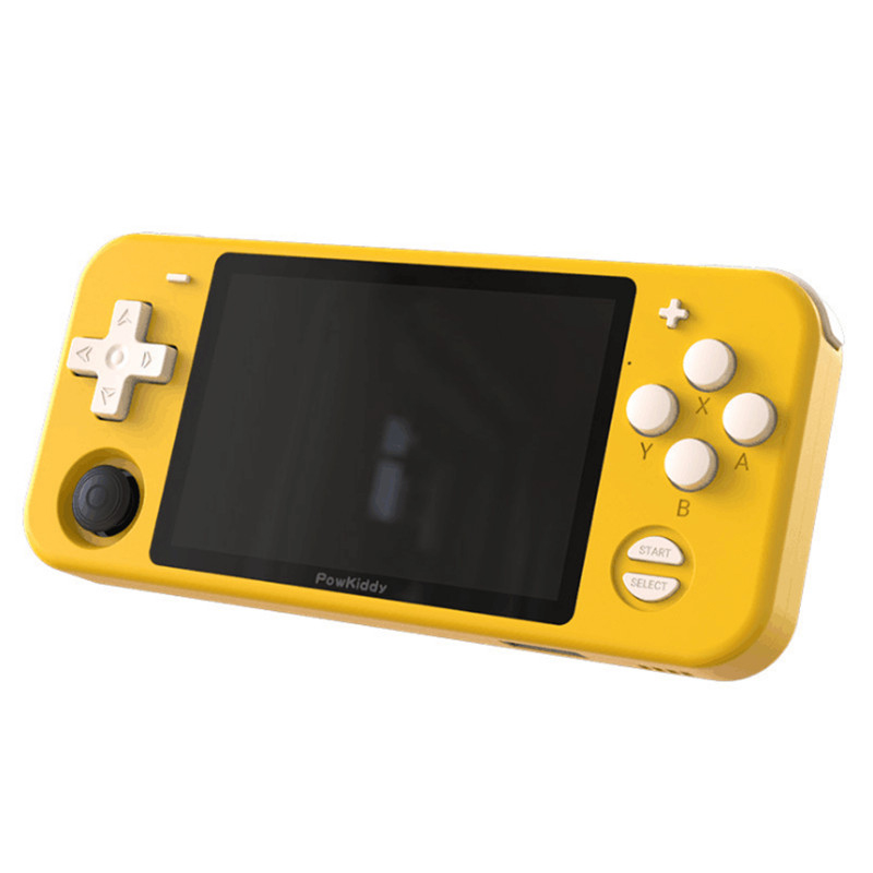 POWKIDDY-RGB10 Game Console Handheld 32G Open Source System RK3326 Chip 3.5-inch IPS HD Screen 3D Seesaw Retro Game Children Gift