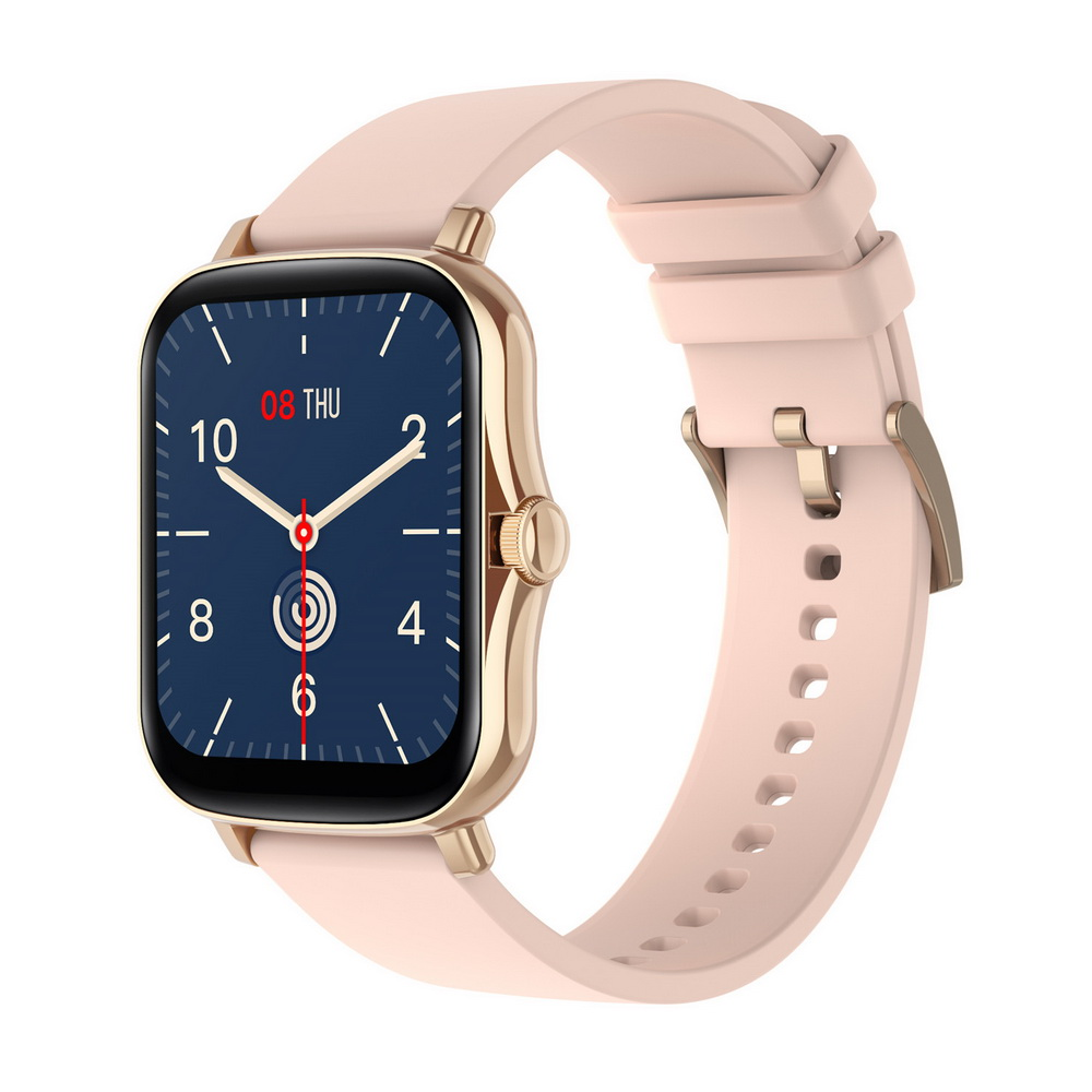 Y20 Smart Watch 1.7 inch Large Screen Rotation Button SME Heart Rate Blood Pressure Message Remote Control