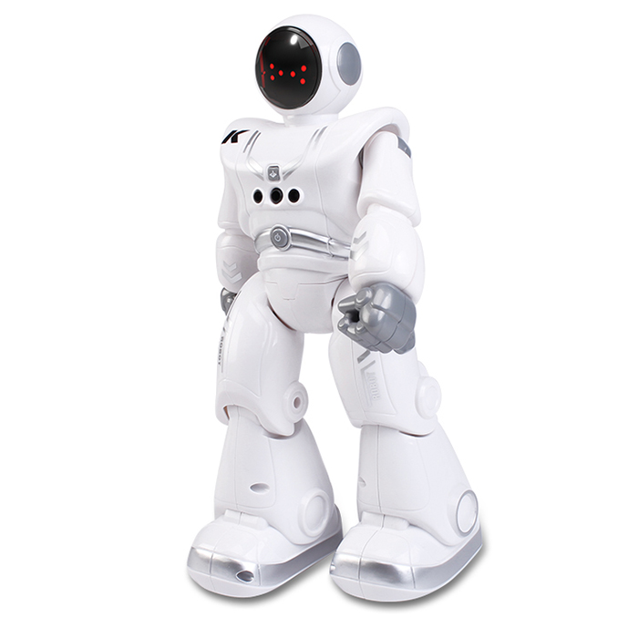 JJRC R18 Children Smart Electric Remote Control Space Robot Touch Gesture Sensing Singing Dancing Robot Toy - WHITE
