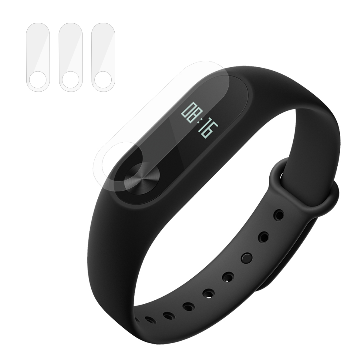 Hat Prince Tempered Glass for Xiaomi Mi Band 2 Transparent Smart Watch Accessories Sale, Price & Reviews | Gearbest