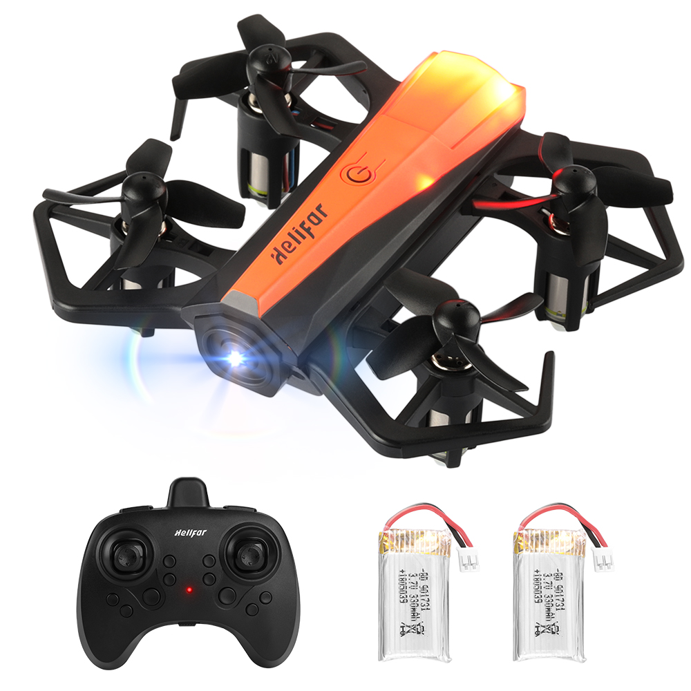 Portable Mini Drone Orange Dual-battery RC Quadcopters Sale, Price & Reviews | Gearbest