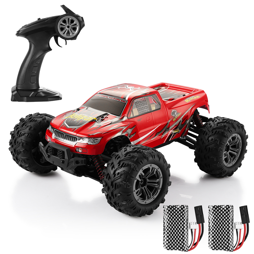 4WD RC Car Red RC Monster Truck Sale, Price & Reviews | Gearbest