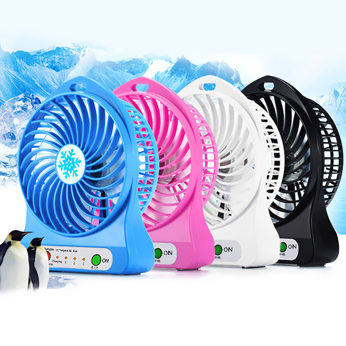 Portable Mini Cooling USB Fan Portable Power Supply Fan Micro USB Fans Flexible Summer Gadget Cooling Accessories