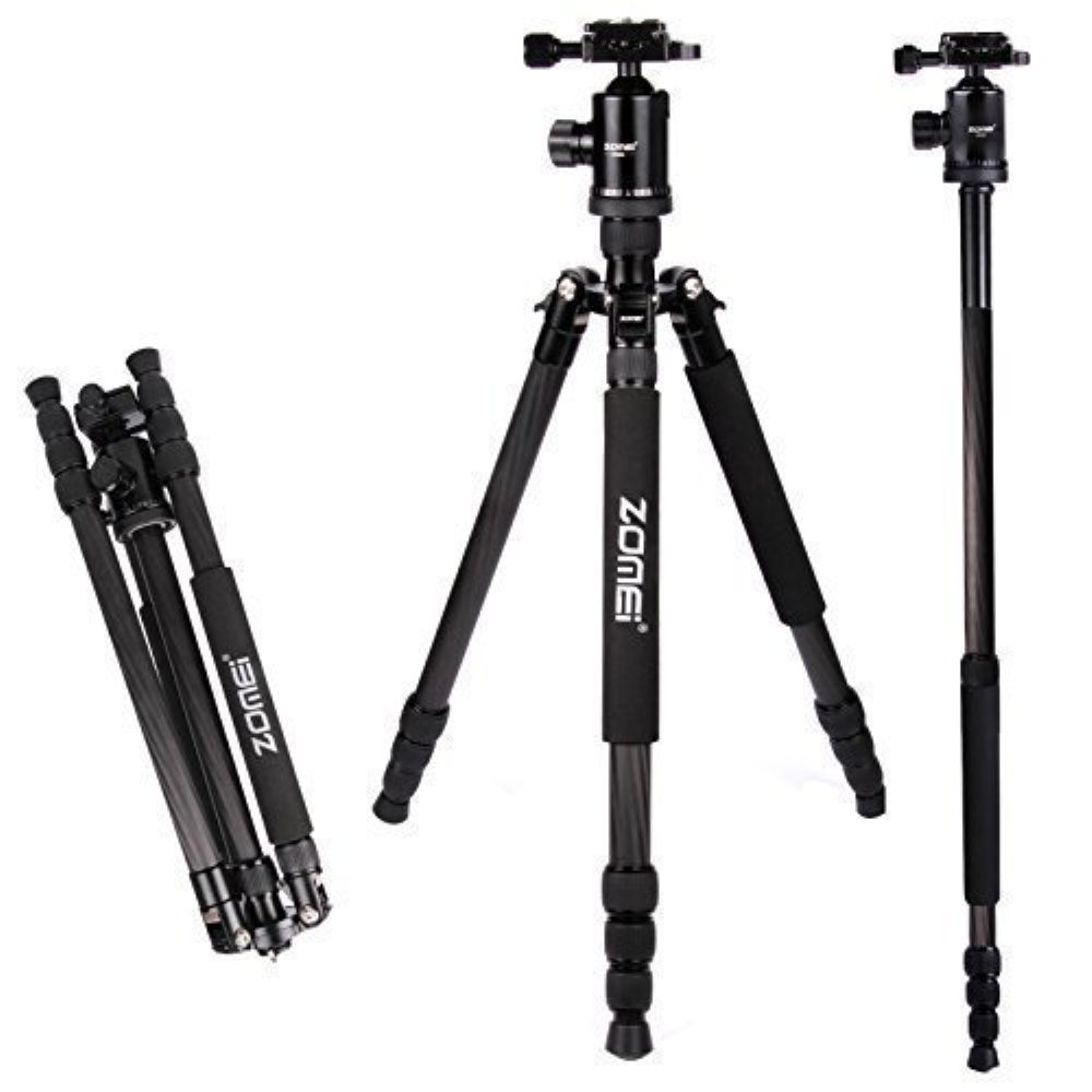 Tripod 360 Mini Tripod Ball Head Tripod Desktop Digital SLR Camera Tripod Fixtures Camera Tripod Color : Black, Size : One Size