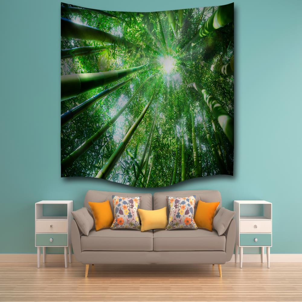 Bamboo Sunshine 3d Digital Printing Home Wall Hanging Nature Art Fabric Tapestry For Bedroom Living Room Decorations Sale Price Reviews Gearbest