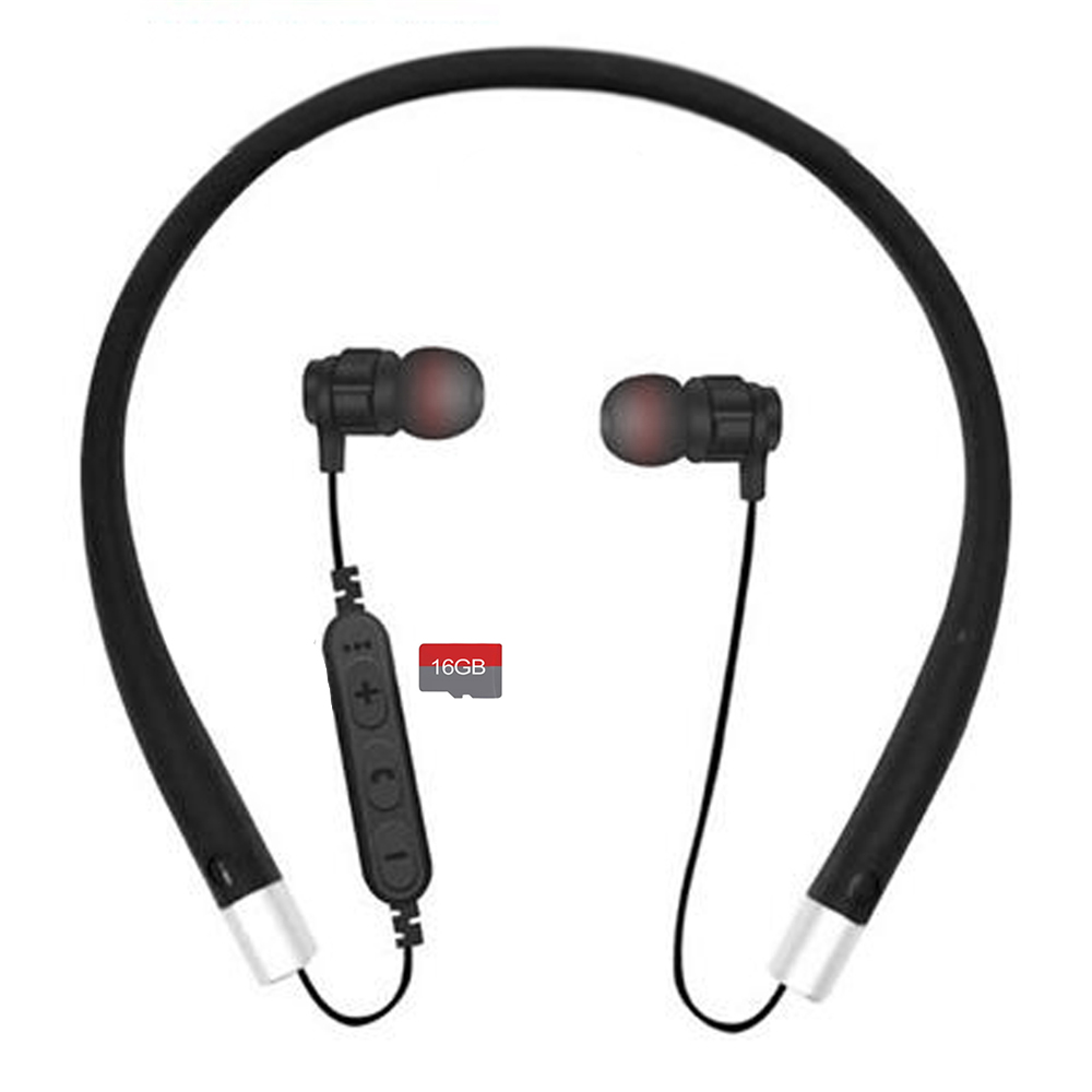 Cwxuan Bluetooth V4 2 Stereo Earphone Neckband Headphone With Microphone Tf Slot For Cell Phones Sale Price Reviews Gearbest
