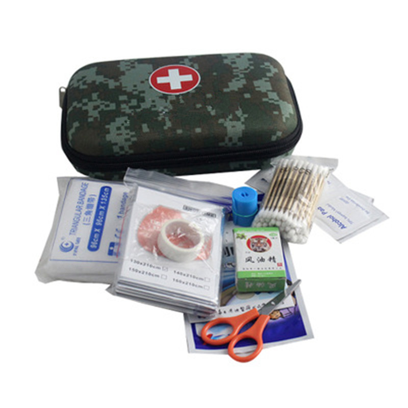Emergency First Aid Kit Medical Travel Set Camping Hiking Sport Security T3