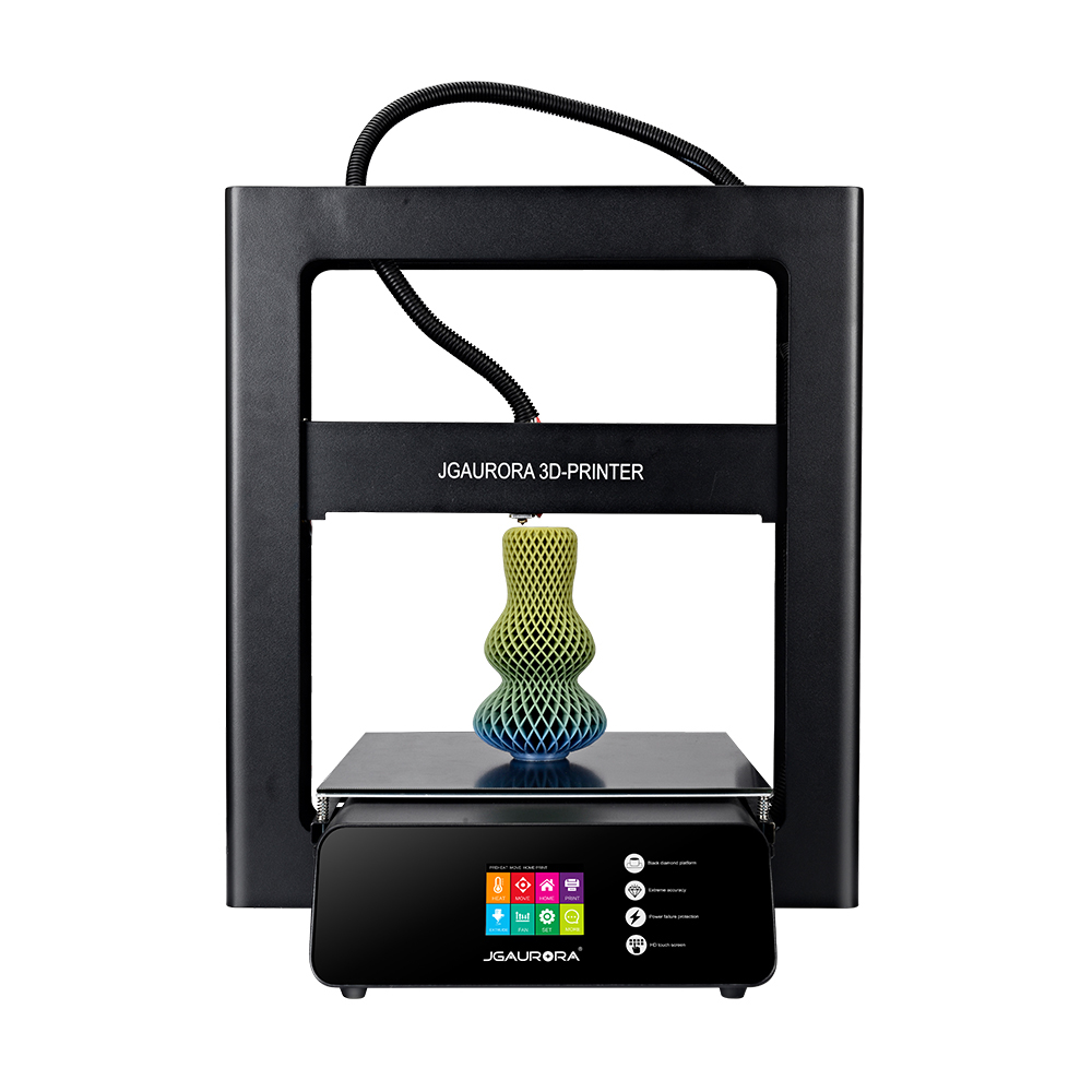JGAURORA A5S Black EU Plug 3D Printers, 3D Printer Kits Sale, Price & Reviews | Gearbest