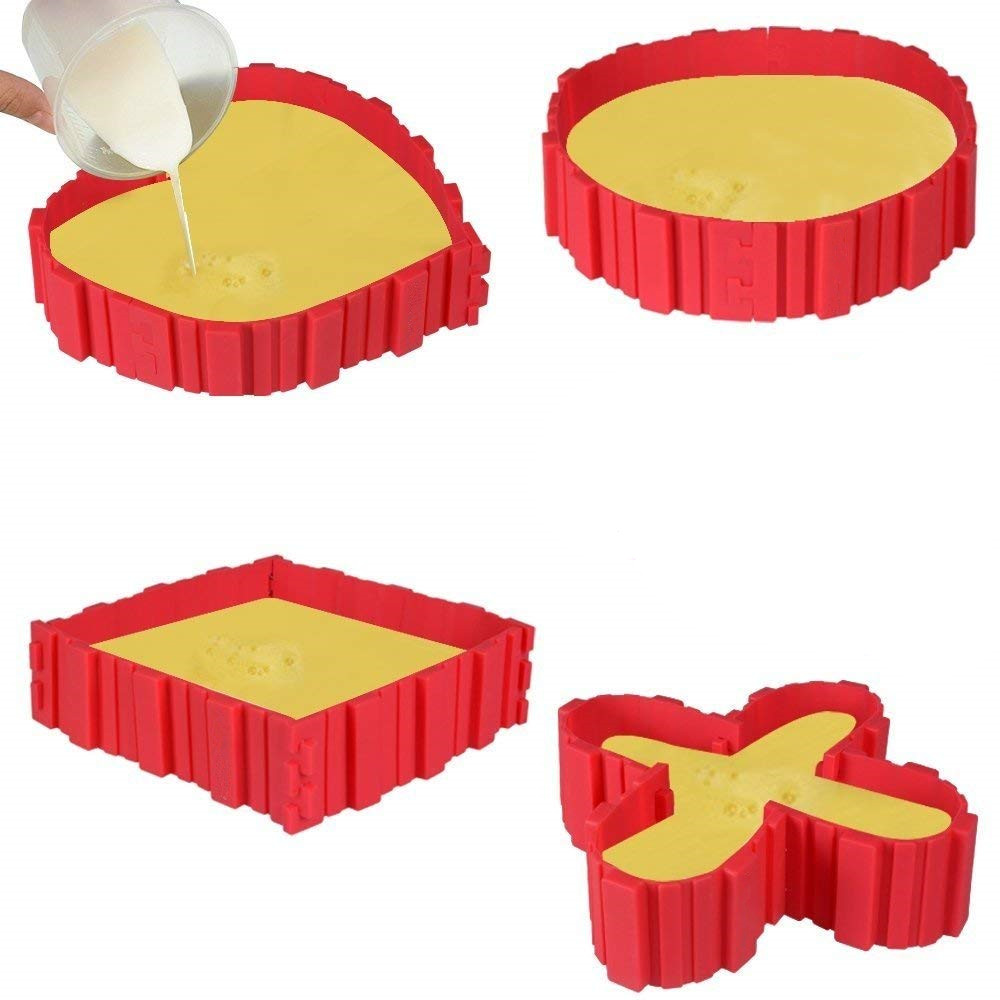 3D Bride Groom Silicone Mould Fondant Cake Topper Modelling Tools Mold FM
