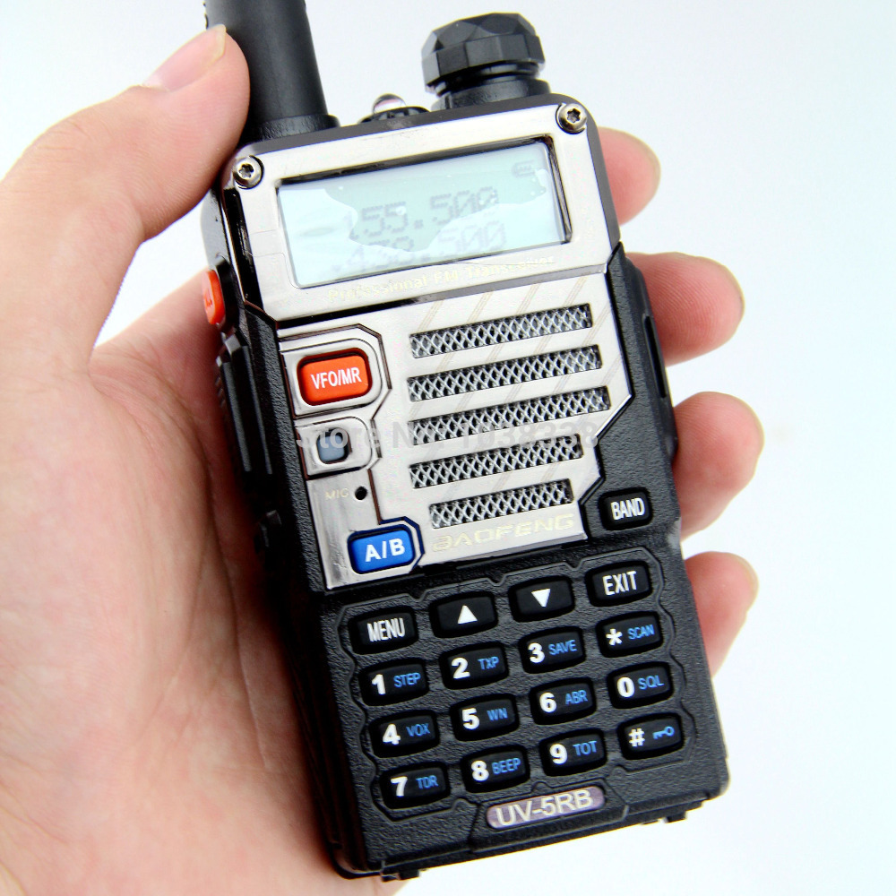 Baofeng UV-5RB Walkie Talkies Radio Dual Band Cb Ham Radio Transceive UV-5RB - BLACK