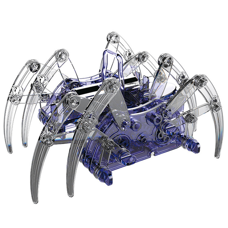 Spider Robot DIY Educational Electronic Science Toy Physics Scientific Experi...