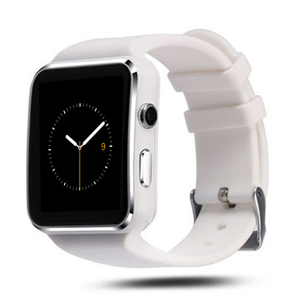 X6 Smart Watch Caméra Support Écran Tactile Carte SIM TF Bluetooth Bluetooth Smartwatch