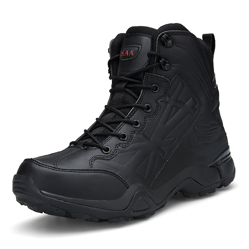 Comfortable Ankle Boots Men Work Shoes