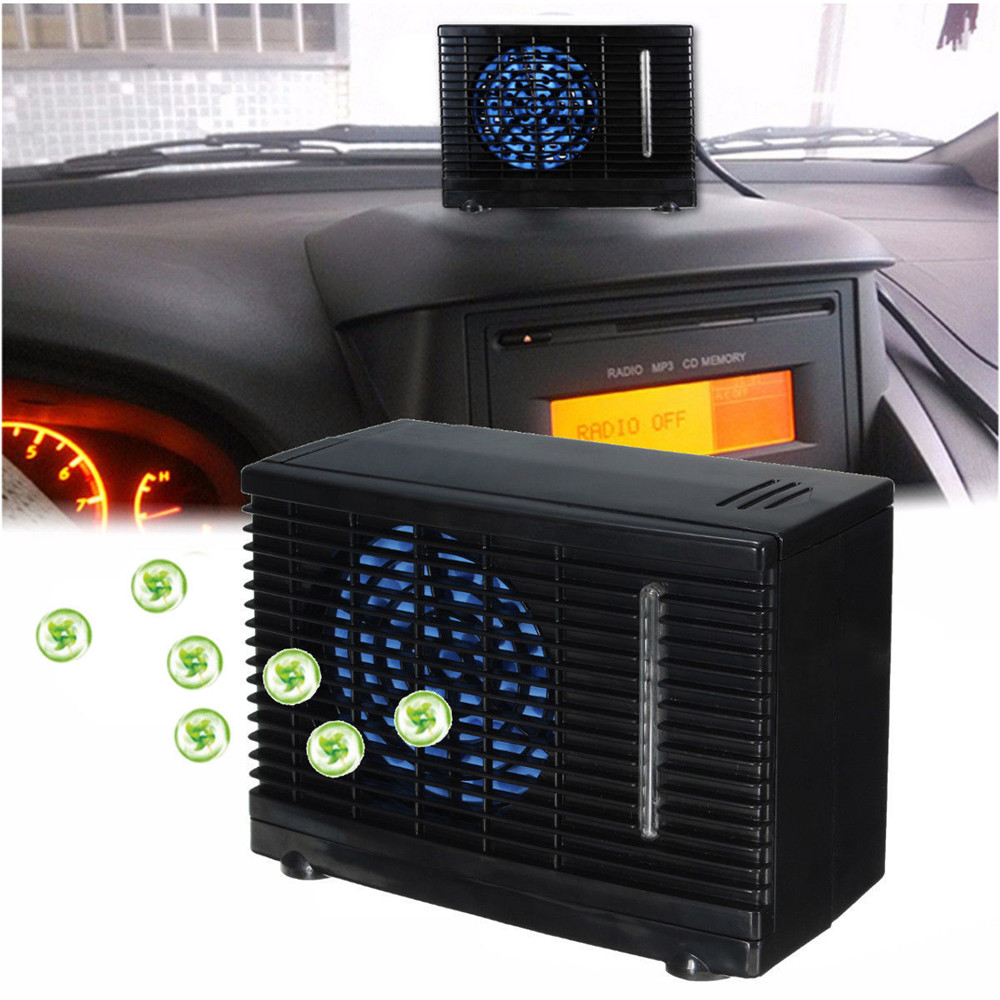 ZXP Three Generations of Air Cooler Household Mini Portable Cooling Fan USB Portable Air Conditioning Fan