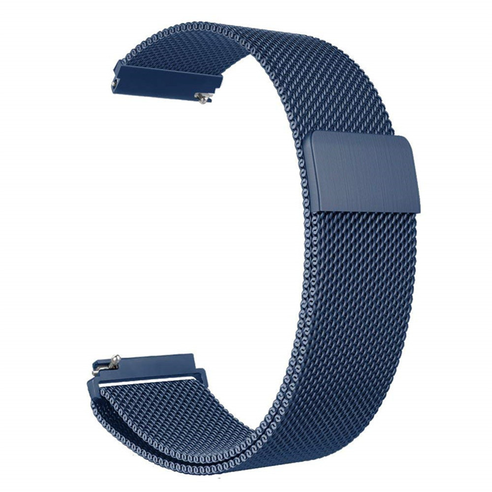 20mm Stainless Watch-Band Strap Bracelet Milanese Loop For Garmin Vivoactive 3