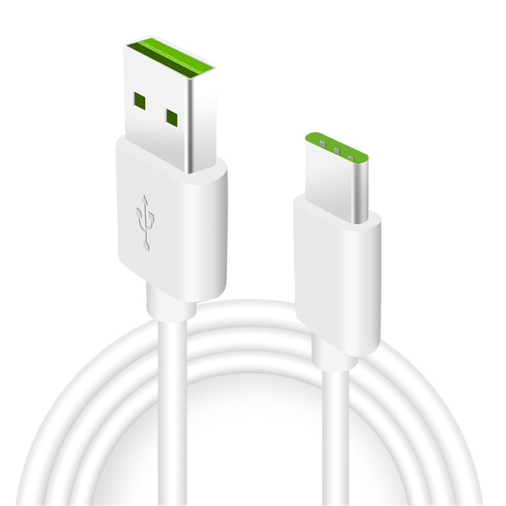 Minismile 5A 150CM SuperVOOC Fast Charging USB Type-C Charge Data Sync Cable - WHITE