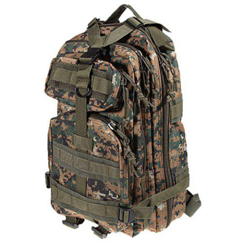 219eee5bc54a Digital Jungle Camouflage Style Combat Tactical Backpack Outdoor Cycling  Knapsack