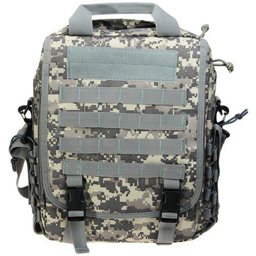 Outdoor Creative Fashion Multifunction Outdoor Large Capacity Double Backpack Men Outdoor Travel Double Leisure Backpack Camouflage Mountaineering Bag for Men Black
