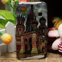 Unique Magnificent Building Pattern Smooth Protective Plastic Cover Case for Samsung Galaxy S5830