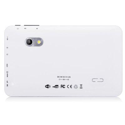 Refurbished M73 Android 4.0 Tablet PC 7 polegadas WVGA Tela 1,2GHz Câmeras Duplas 1GB de RAM