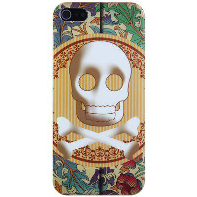 Stylish Skull Pattern Hard Cover Case for iPhone 5